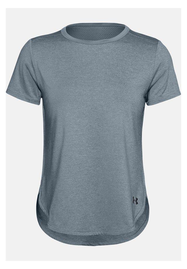 SPORT CROSSBACK - Print T-shirt - hushed turquoise