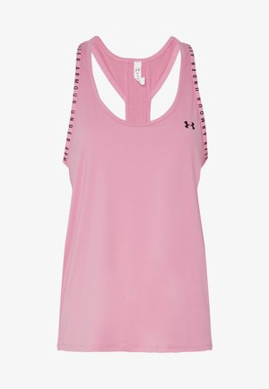 UA KNOCKOUT TANK - Top -  lipstick/black