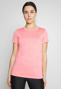Under Armour - TECH TWIST - T-shirt basique - beta/metallic silver - 0