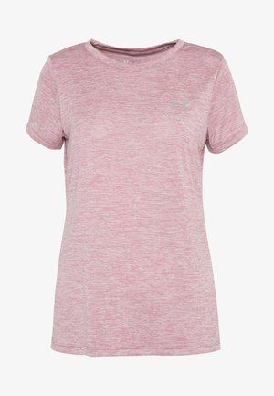 TECH TWIST - Camiseta básica - hushed pink/metallic silver