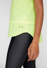 Under Armour - SPORT TANK - T-shirt sportiva - x-ray/hushed green - 6