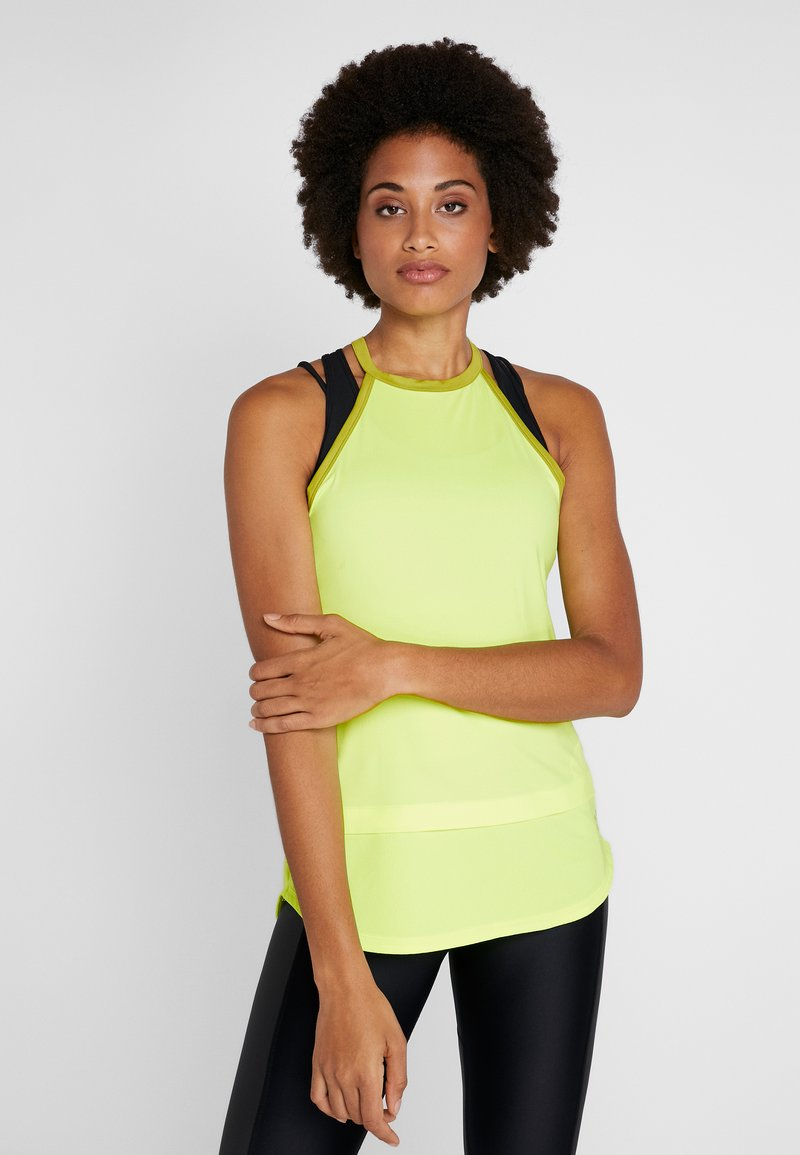Under Armour - SPORT TANK - T-shirt sportiva - x-ray/hushed green
