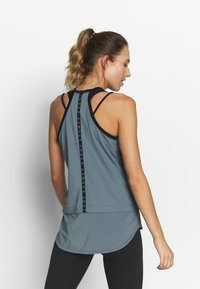 Under Armour - SPORT TANK - Sports shirt - hushed turquoise/black - 2