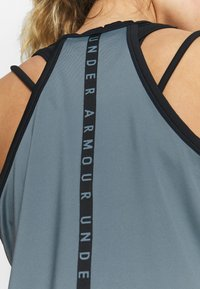 Under Armour - SPORT TANK - Treningsskjorter - hushed turquoise/black