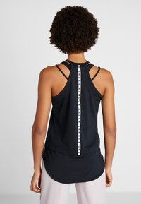 Under Armour - SPORT TANK - T-shirt sportiva - black/white - 2