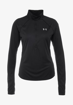 SPEED STRIDE HALF ZIP - Treningsskjorter - black