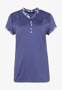 Under Armour - ZINGER ZIP - T-Shirt print - blue ink - 3