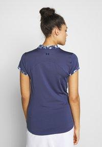 Under Armour - ZINGER ZIP - T-Shirt print - blue ink - 2