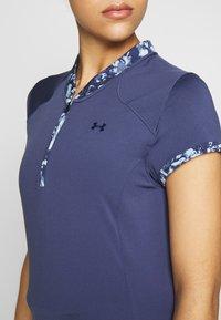 Under Armour - ZINGER ZIP - T-Shirt print - blue ink - 4