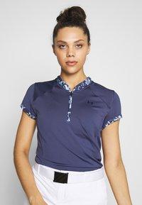 Under Armour - ZINGER ZIP - T-Shirt print - blue ink - 0