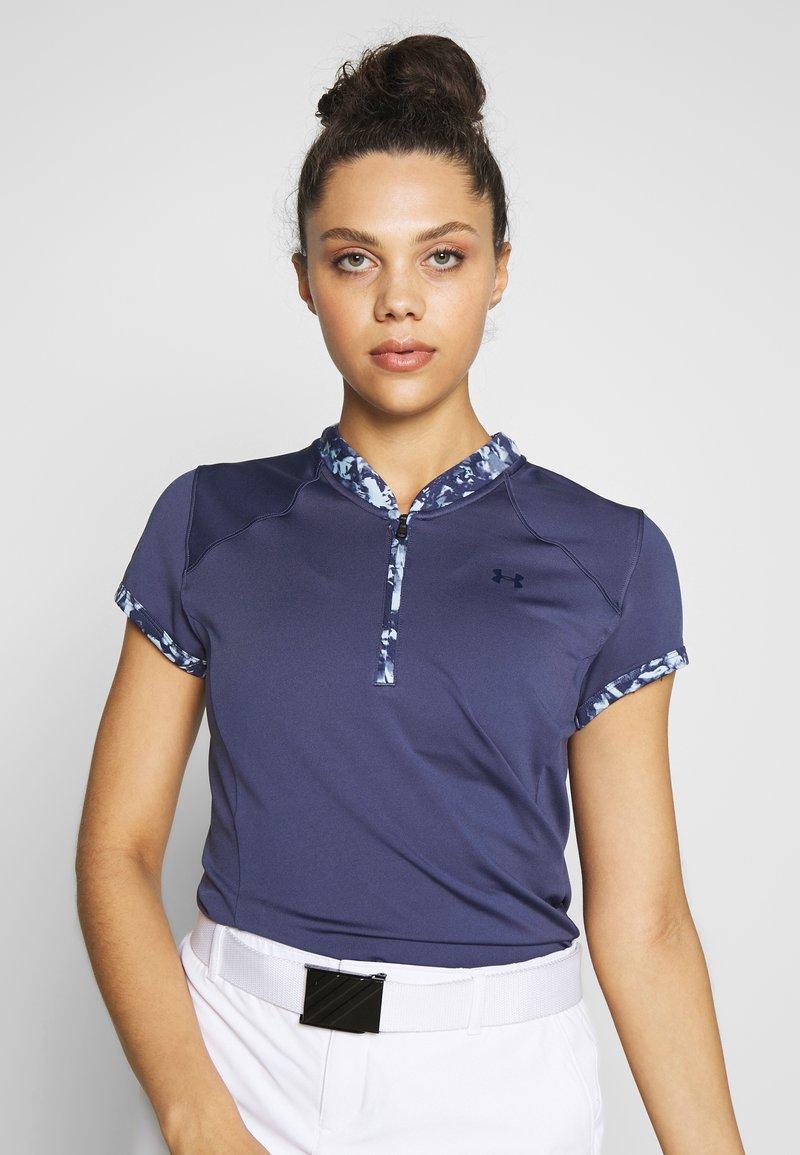 Under Armour - ZINGER ZIP - T-Shirt print - blue ink