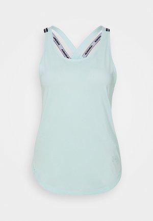 SPORT X BACK TANK - Treningsskjorter - seaglass blue