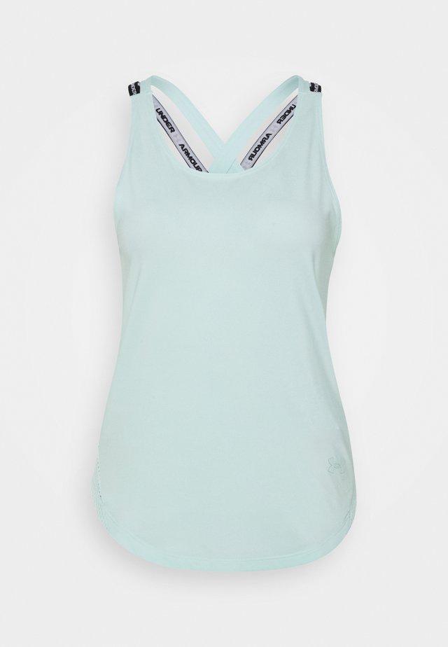 SPORT X BACK TANK - Funktionsshirt - seaglass blue