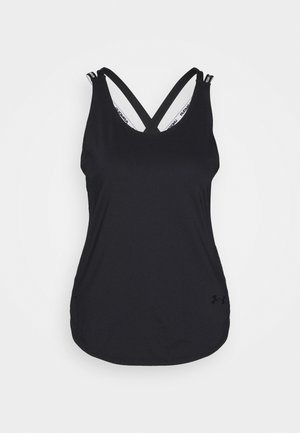 SPORT X BACK TANK - Sports shirt - black