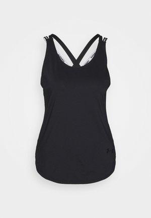 SPORT X BACK TANK - Koszulka sportowa - black