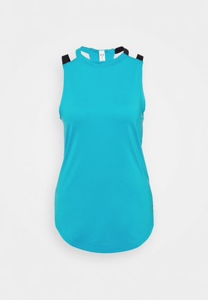 SPORT 2 STRAP TANK - Sports shirt - equator blue