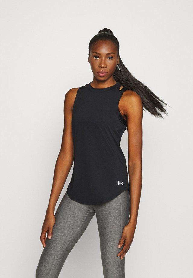 SPORT 2 STRAP TANK - Sportshirt - black