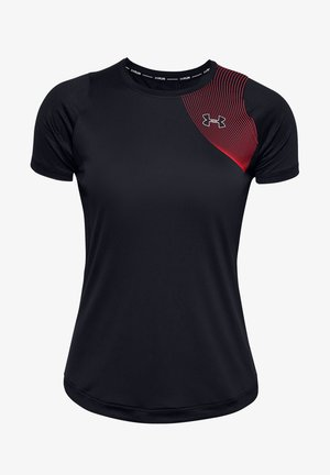 QUALIFIER ISO-CHILL SS - Sports shirt - black