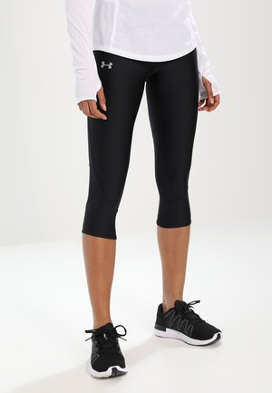 FLY FAST CAPRI - 3/4 sportovní kalhoty - black