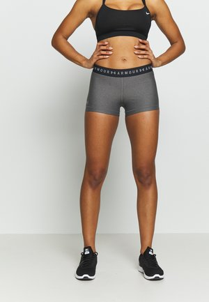 SHORTY - Legginsy - charcoal light heather/anthracite/metallic silver