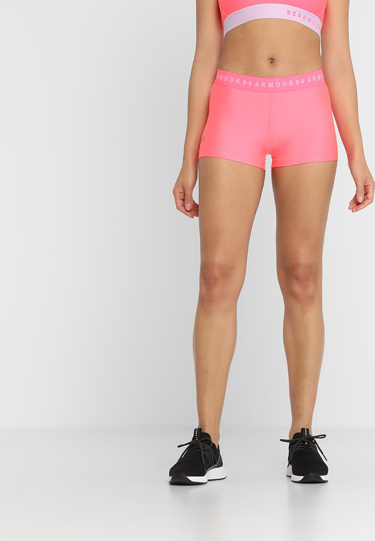 Under Armour - SHORTY - Korte sportsbukser - mojo pink/metallic silver