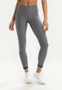 Under Armour - ANKLE CROP - Tights - charcoal light heath - 0