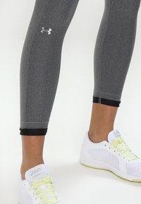 Under Armour - ANKLE CROP - Tights - charcoal light heath - 3