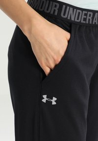 Under Armour - PLAY UP PANT SOLID - Pantalones deportivos - black - 4