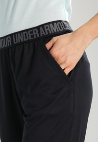 Under Armour - PLAY UP PANT SOLID - Pantalones deportivos - black - 3