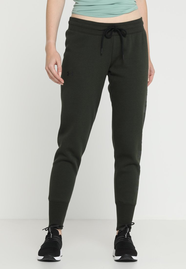 Under Armour - PANT - Træningsbukser - artillery green/black