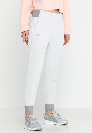 MOVE PANT - Tracksuit bottoms - onyx white/tetra grey
