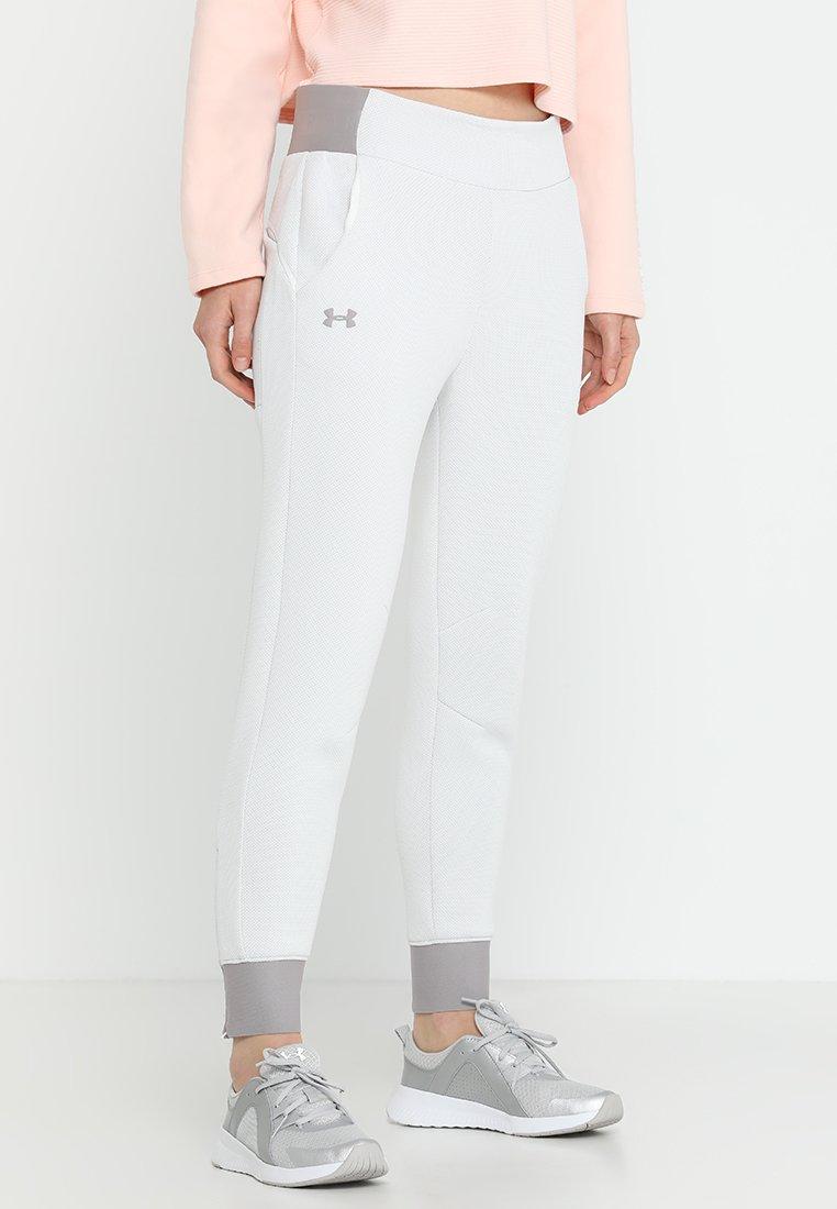 Under Armour - MOVE PANT - Pantalones deportivos - onyx white/tetra grey