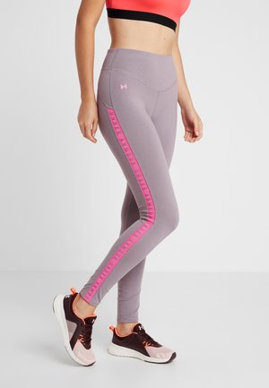TAPED FAVORITE LEGGING - Medias - purple prime/mojo pink