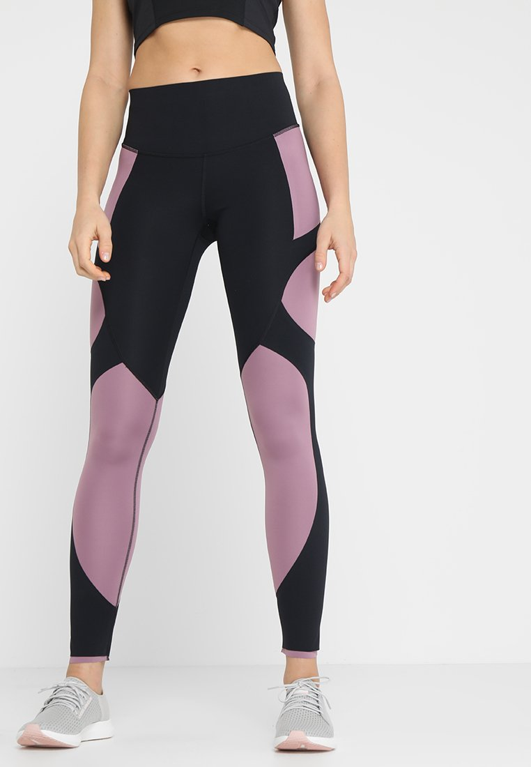 Under Armour - Legginsy - black