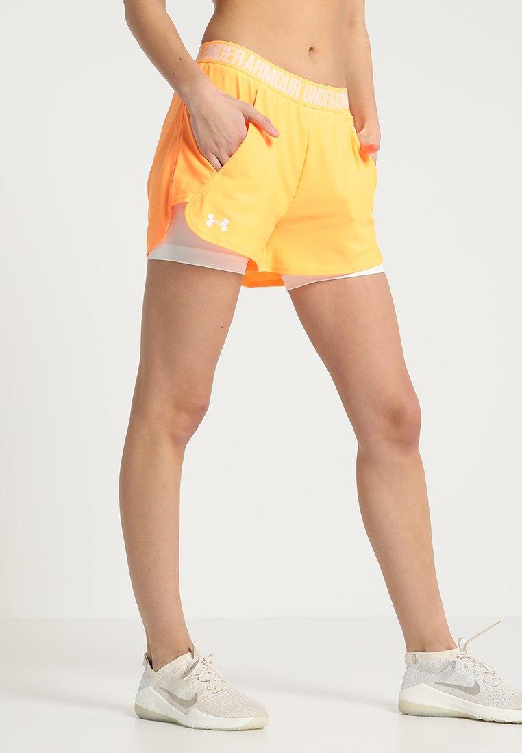 Under Armour - PLAY UP SHORT - Krótkie spodenki sportowe - mango orange
