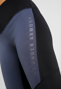 Under Armour - LEGGING GRAPHIC - Punčochy - downpour gray/black/tonal - 3