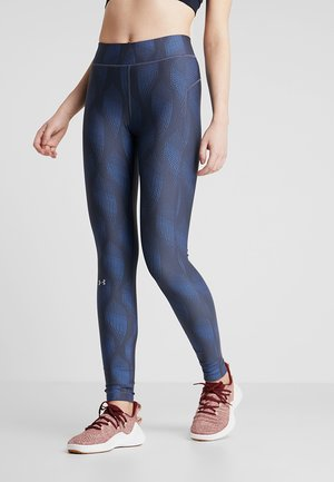 LEGGING METALLIC - Tights - downpour gray/metallic silver