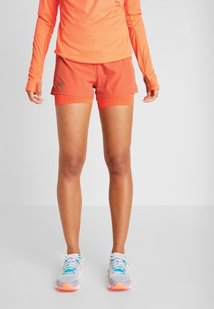 QUALIFIER SPEEDPOCKET SHORT - Träningsshorts - coral dust / peach plasma / reflective