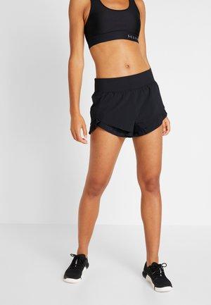 PERPETUAL SHORT - Pantalón corto de deporte - black