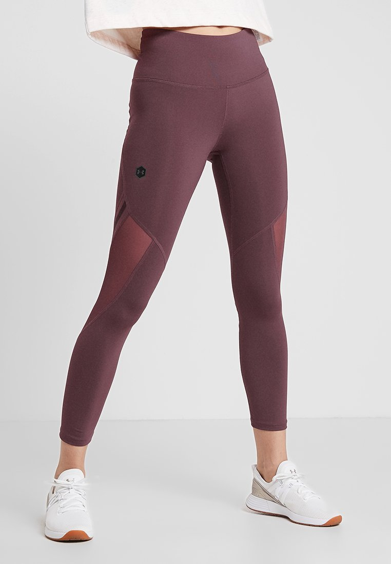 Under Armour - RUSH CROP - Collant - level purple