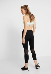 Under Armour - RUSH CROP - Tights - black - 2