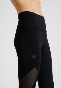 Under Armour - RUSH CROP - Tights - black - 4