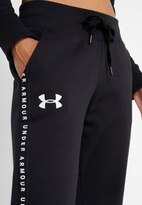 Under Armour - ORIGINATORS JOGGER - Trainingsbroek - black/white - 4