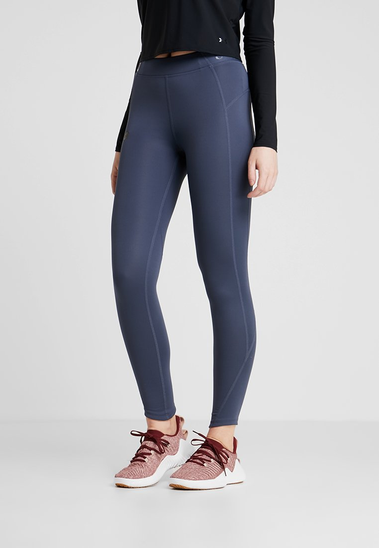 Under Armour - RUSH LEGGING - Collant - downpour gray/black