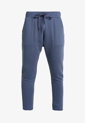 UNSTOPPABLE MOVE LIGHT OPEN HEM PANT - Spodnie treningowe - downpour gray/blue heights
