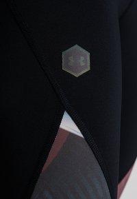 Under Armour - RUSH - Leggings - black/level purple - 7