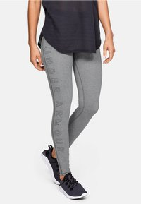 Under Armour - FAVORITE - Collants - pitch gray medium heather - 0