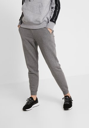 RIVAL SOLID PANTS - Tracksuit bottoms - jet gray medium heather