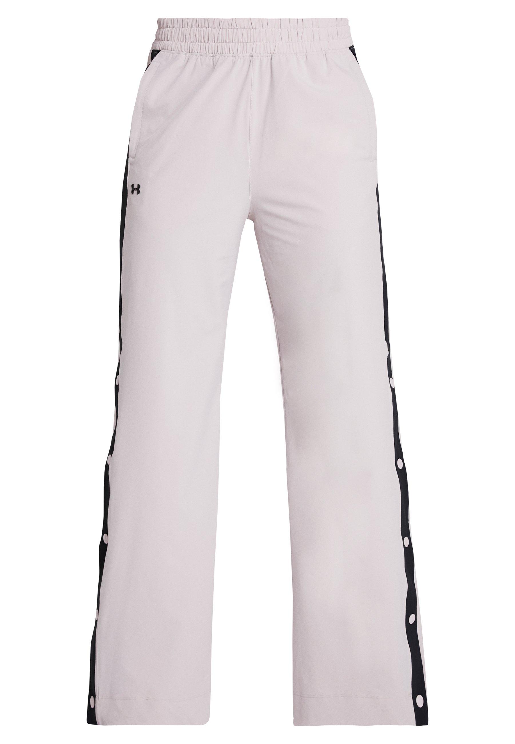 Under Armour ATHLETE RECOVERY WN WL PANT - Spodnie treningowe - dash pink/black