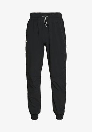RECOVER PANTS - Pantalones deportivos - black/onyx white